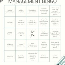 (Kennis) Management Bingo